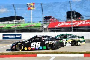 Daniel Suarez, Gaunt Brothers Racing, Toyota Camry PeacockTV - Can't Not Watch, James Davison, Rick Ware Racing, Ford Mustang VIR