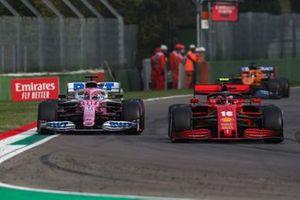 Charles Leclerc, Ferrari SF1000, Sergio Perez, Racing Point RP20
