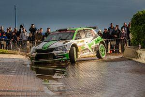 Калле Рованперя и Йонне Халттунен, Škoda Fabia R5, Škoda Motorsport