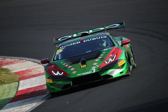 Lamborghini Huracan Super Trofeo Evo #298, Aylezo Motorsport: Kumar Prabakaran, Massimiliano Wiser