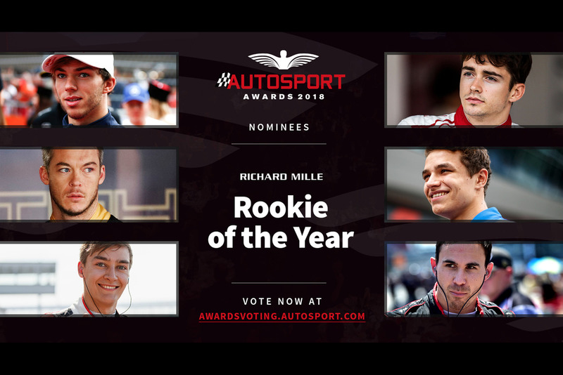 Autosport Awards 2018: Rookie of the Year