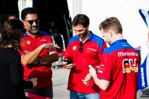Dilbagh Gill, CEO, Team Principal, Mahindra Racing, Jérôme d'Ambrosio, Mahindra Racing, M5 Electro, Nick Heidfeld