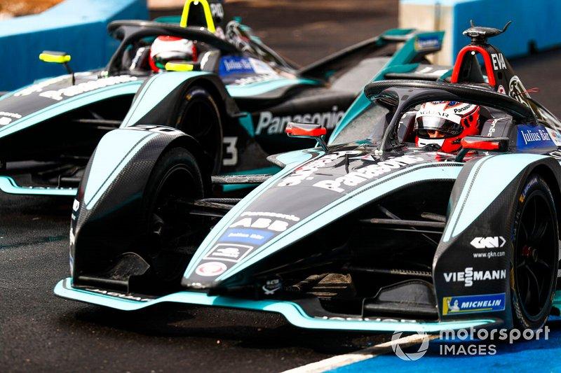 Mitch Evans, Panasonic Jaguar Racing, Jaguar I-Type 3, Nelson Piquet Jr., Panasonic Jaguar Racing, Jaguar I-Type