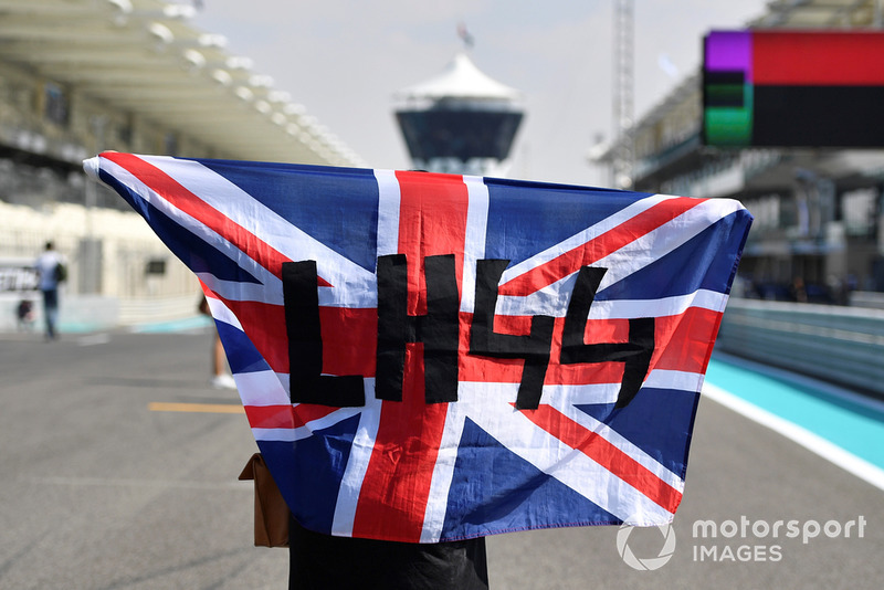 Fans Lewis Hamilton, Mercedes AMG F1