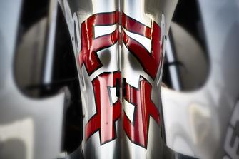 Vue de la monoplace de Lewis Hamilton, Mercedes AMG F1 W09 EQ Power+