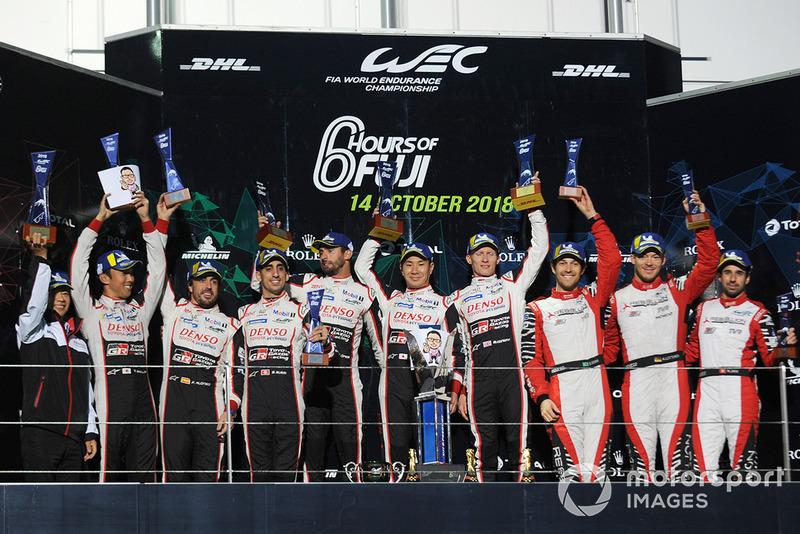 Y allí volvieron a ganar los pilotos del #7, Mike Conway, Kamui Kobayashi y Jose Maria Lopez