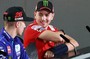 Maverick Viñales, Yamaha Factory Racing, Jorge Lorenzo, Ducati Team