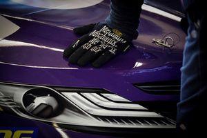 Denny Hamlin, Joe Gibbs Racing, Toyota Camry FedEx Office, crew