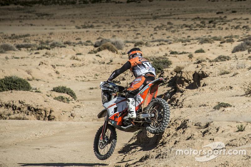 #19 KTM Factory Racing: Luciano Benavides
