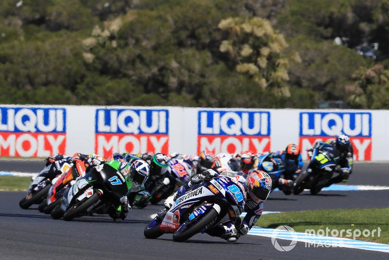 Stress slaat toe bij titelkandidaten in Moto2 en Moto3