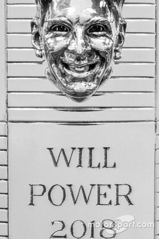 Will Power Trofeo de Borg Warner