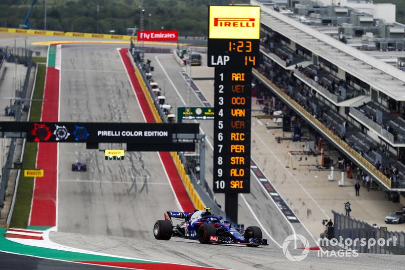 P12: Pierre Gasly, Scuderia Toro Rosso STR13