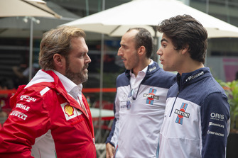 Gino Rosato, Ferrari, Robert Kubica, Williams and Lance Stroll, Williams Racing
