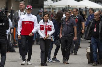 Marcus Ericsson, Sauber y Maria Guidotti, Sauber