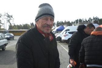 Володимир Строкань - ранкова задумливість перед кільцевим дебютом в 60!