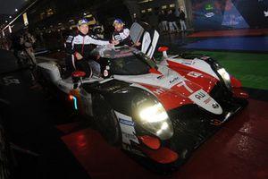 Winners #7 Toyota Gazoo Racing Toyota TS050: Mike Conway, Kamui Kobayashi, Jose Maria Lopez