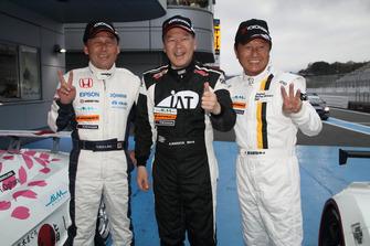 中嶋悟、中谷明彦、関谷正徳(AIM Legend's Club Cup 2018)