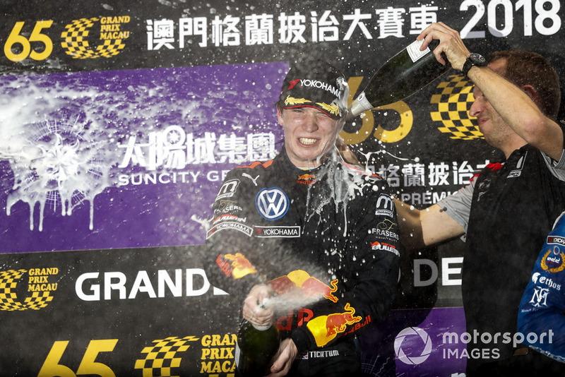 Gran Premio de Macao F3: Dan Ticktum, Academia de Motopark