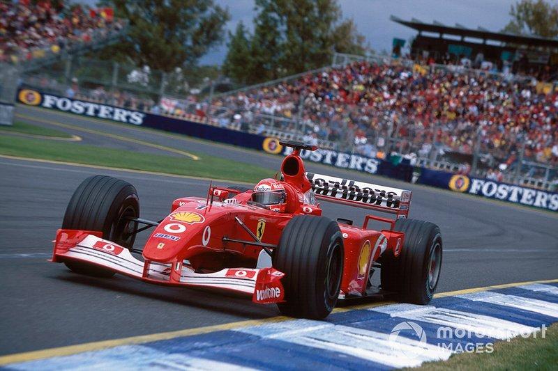 2002. Ferrari F2001