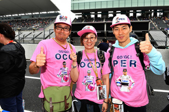 Esteban Ocon, Racing Point Force India F1 Team fans