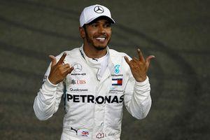 Zwycięzca wyścigu Lewis Hamilton, Mercedes AMG F1 W09