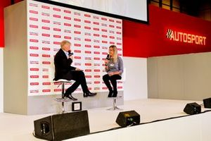 Alan Hyde and Charlie Martin on stage