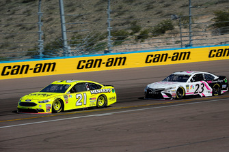 Paul Menard, Wood Brothers Racing, Ford Fusion Menards / Cardell and J.J. Yeley, BK Racing, Toyota Camry She Beverage Company