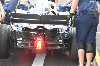 Detalle trasero Williams FW41