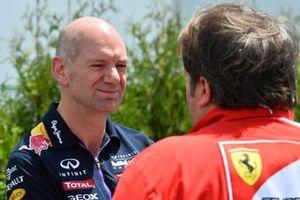 Adrian Newey, Red Bull Racing y Gino Rosato, Ferrari