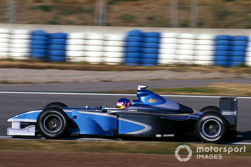 Jacques Villeneuve, BAR 001 Mecachrome