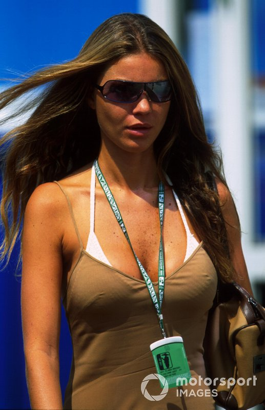 David Coulthard's Brazilian girlfriend Simone Abdelnour