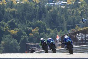 Valentino Rossi, Yamaha Factory Racing, Andrea Iannone, Team Suzuki MotoGP, Alex Rins, Team Suzuki MotoGP