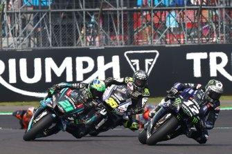 Франко Морбиделли, Petronas Yamaha SRT, Кэл Кратчлоу, LCR Honda Castrol, и Маверик Виньялес, Yamaha Factory Racing