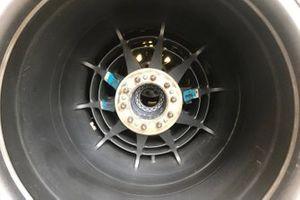 Detalle de la llanta del Renault F1 Team R.S.19