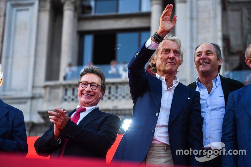 Luca di Montezemolo ve Gerhard Berger