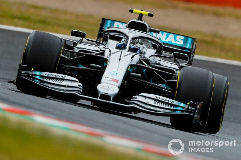 Çin: Valtteri Bottas, Mercedes AMG W10