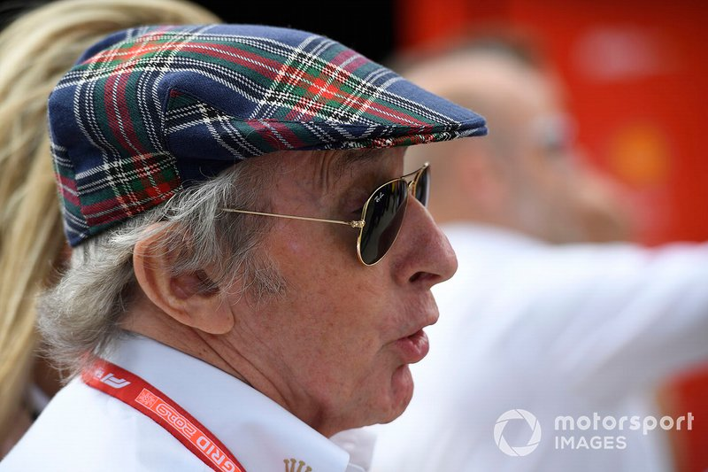 Sir Jackie Stewart, tricampeón del mundo de F1