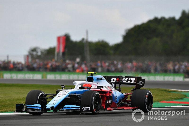 Robert Kubica, Williams FW42, con parafina