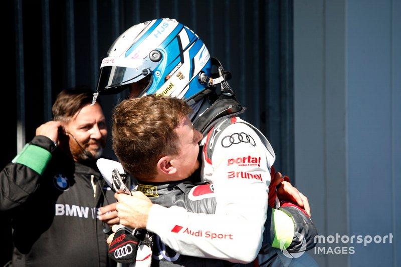 Il vincitore della gara René Rast, Audi Sport Team Rosberg