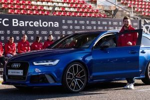 Lionel Messi, Barcelona FC with an Audi