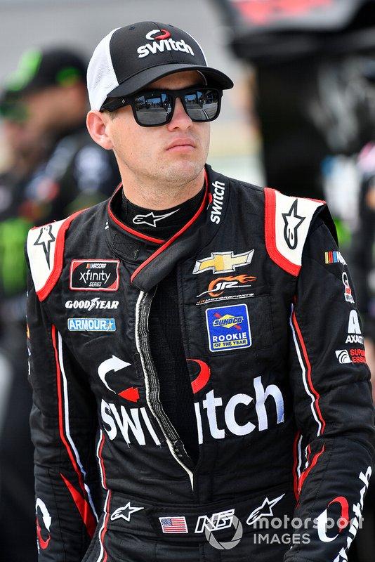 Noah Gragson, JR Motorsports, Chevrolet Camaro Switch