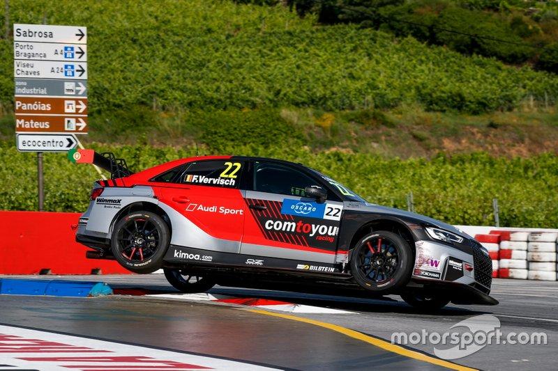 Frédéric Vervisch, Comtoyou Team Audi Sport Audi RS 3 LMS
