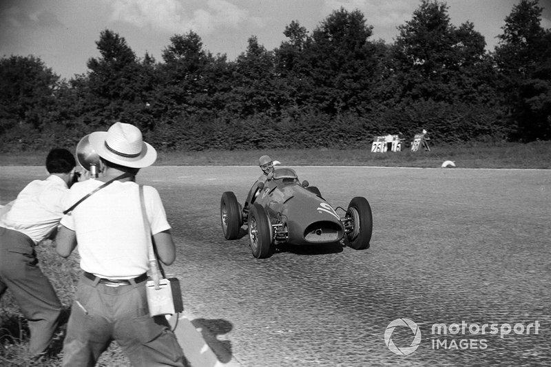 Alberto Ascari, 2 veces ganador del GP de Italia