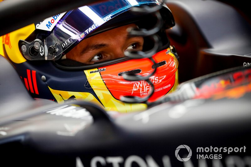8: Alex Albon, Red Bull Racing, no time