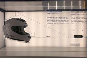 Analisi della telecamera sul casco
