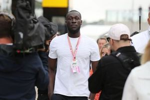 Stormzy in the paddock