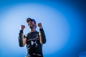 Jean-Eric Vergne, DS TECHEETAH, DS E-Tense FE19, celebrates