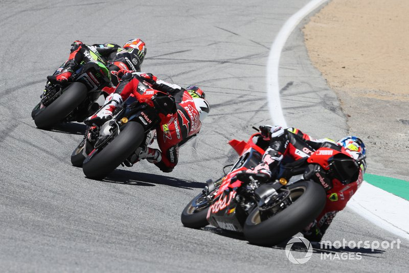 Jonathan Rea, Kawasaki Racing Team, Chaz Davies, Aruba.it Racing-Ducati Team, Alvaro Bautista, Aruba.it Racing-Ducati Team