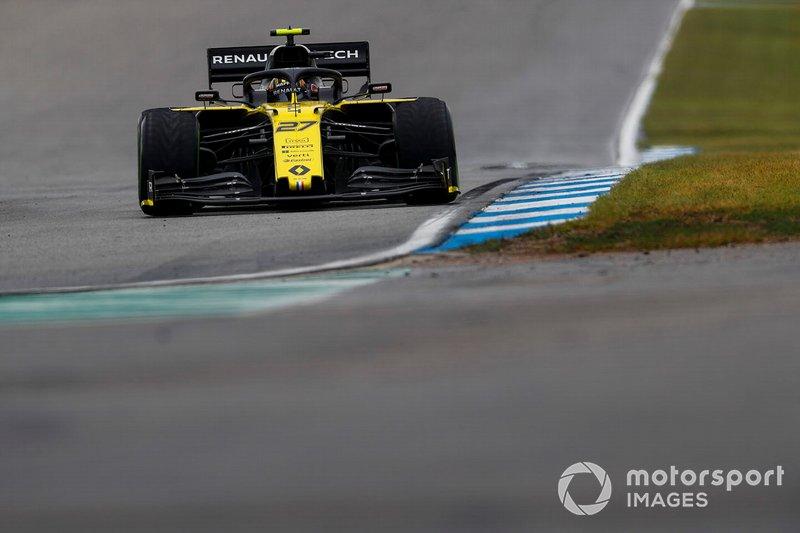 Nico Hulkenberg, Renault F1 Team R.S. 19 (não terminou)