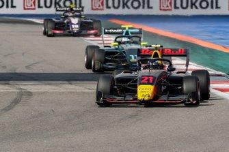 Juri Vips, Hitech Grand Prix, Jake Hughes, HWA RACELAB e Pedro Piquet, Trident